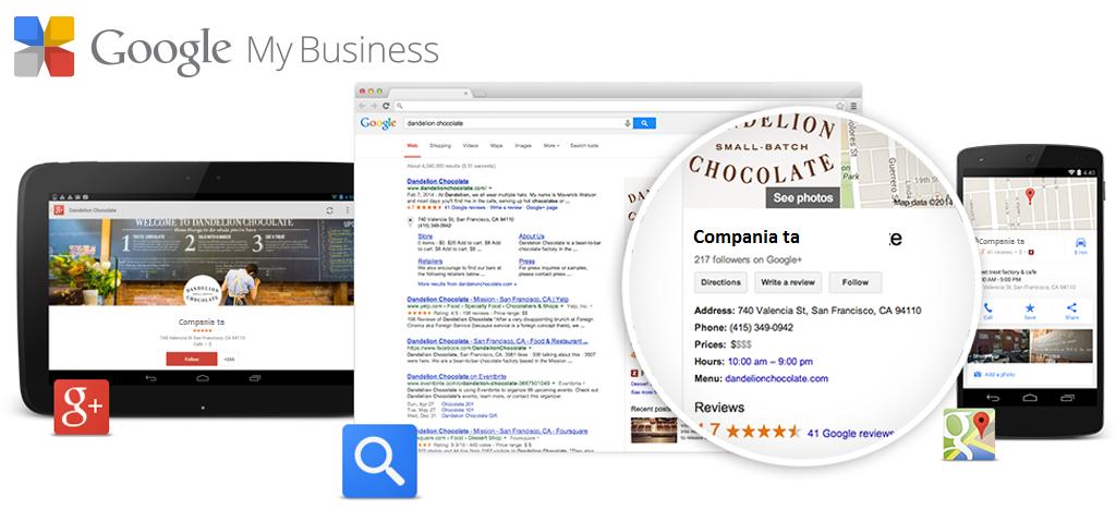 Aplicaţia mobilă de Compania mea pe Google